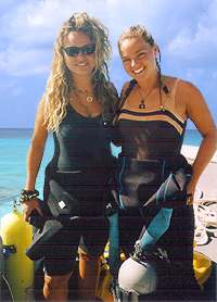 Katya and Tanya  Grand Turk diving, Turks and Caicos Islands